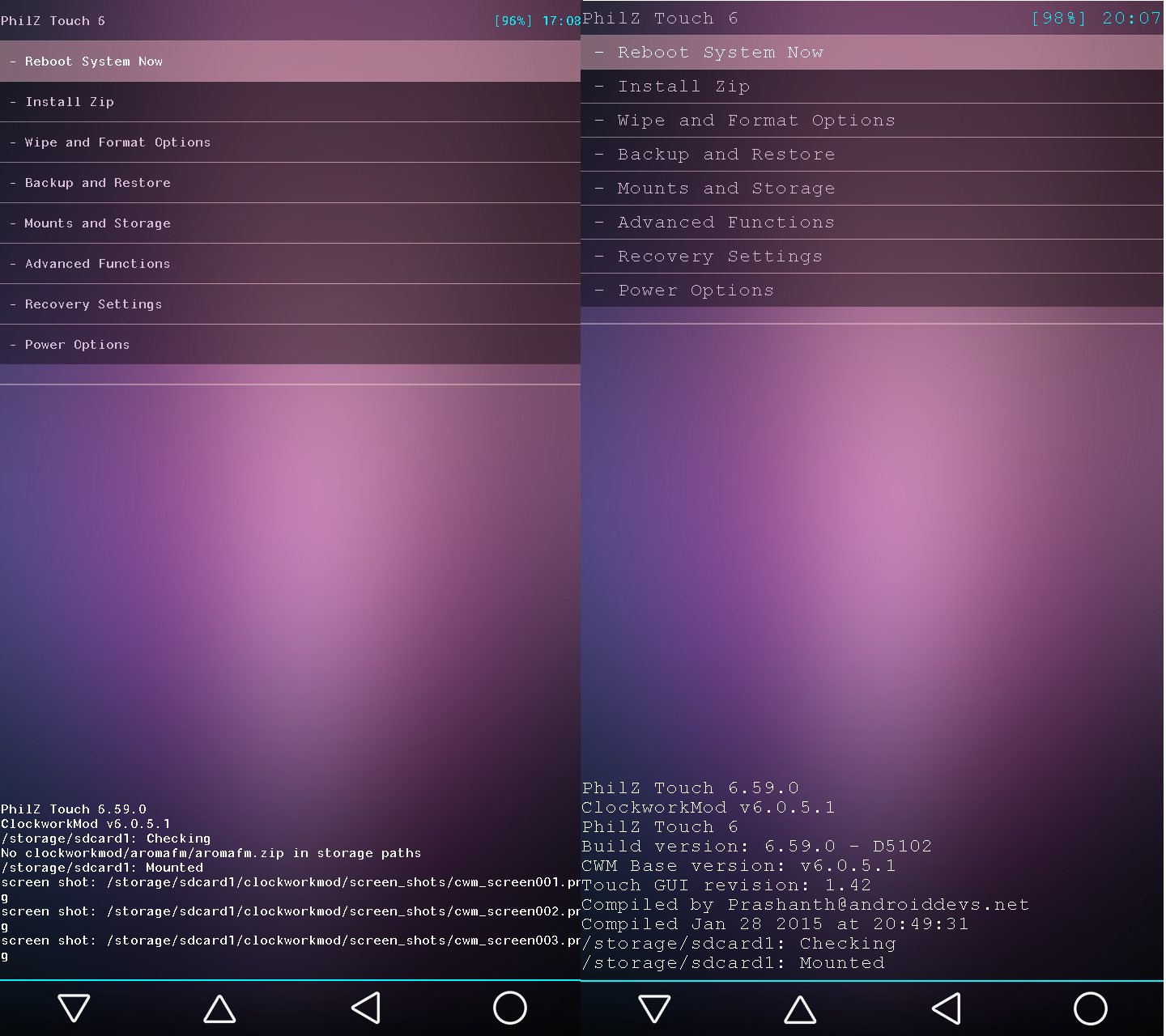 Updated}[advanced edition] philz touch recovery 6. 59. 0 [ redmi.